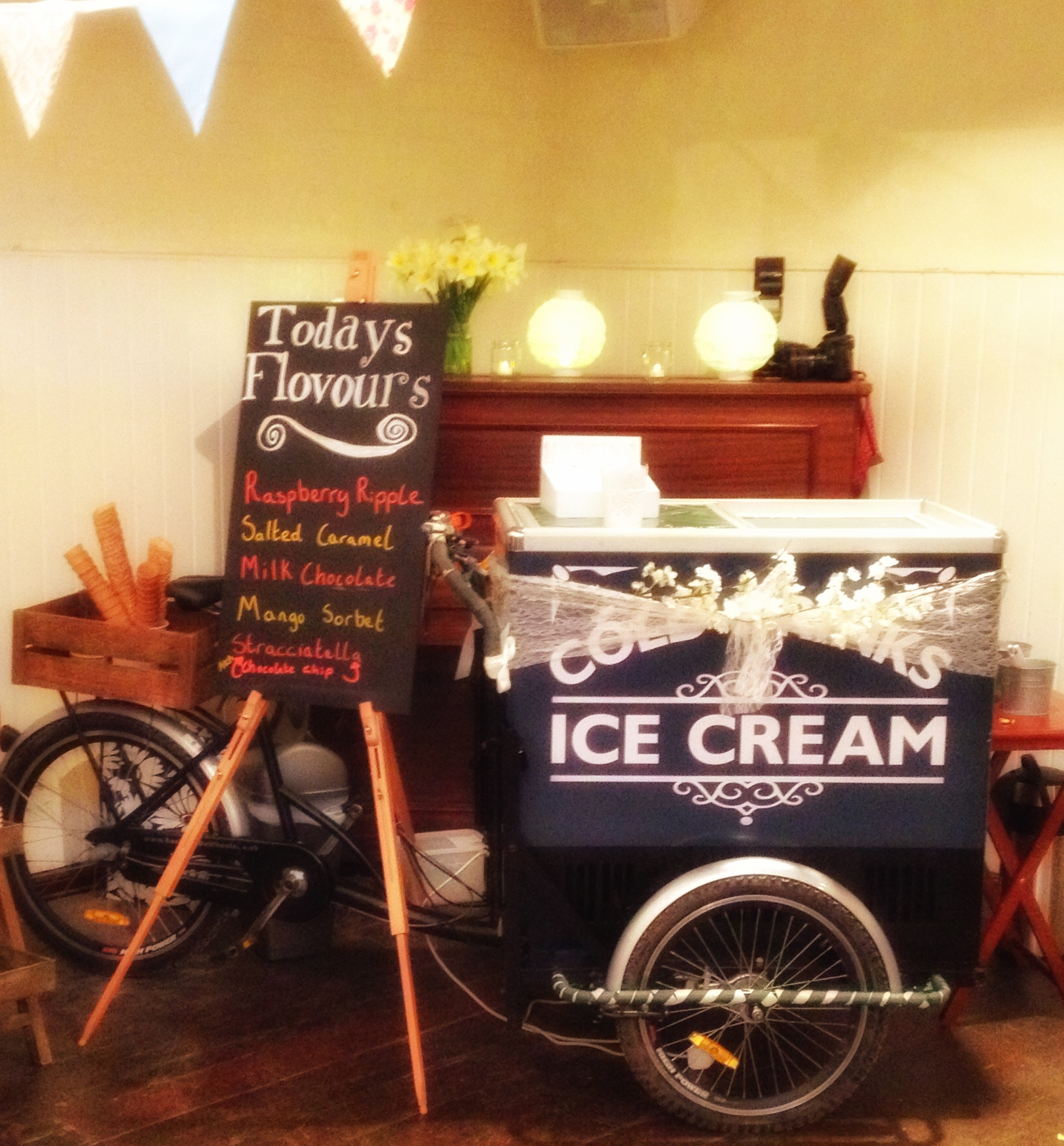 Ice Cream Tricycle Inside
