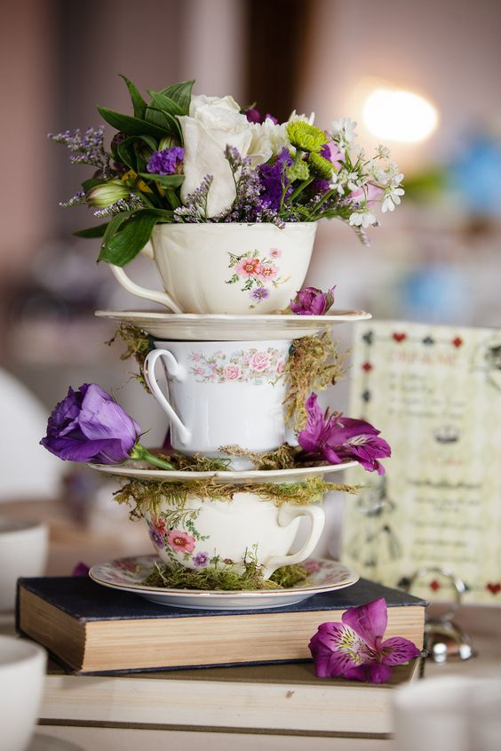 Make your classic style shine through with vintage crockery