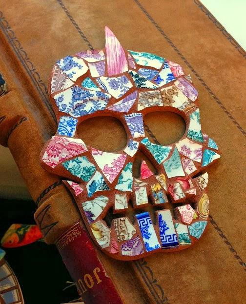 Crockery Design Sugar Skull